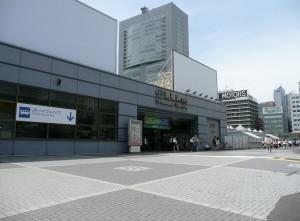 新南口新宿駅