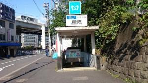 混雑避ける・東西線飯田橋