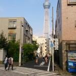 浅草から東京スカイツリーへのアクセス。徒歩で行く方法