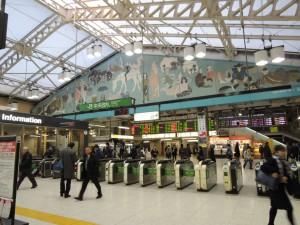 上野駅中央改札