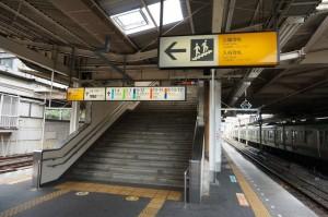 上野駅2階ホーム
