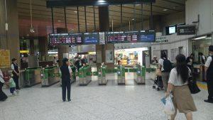 上野 新幹線改札