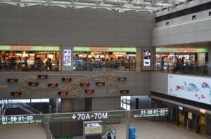 羽田空港出発ロビー