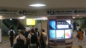JR浜松町駅乗り換え通路