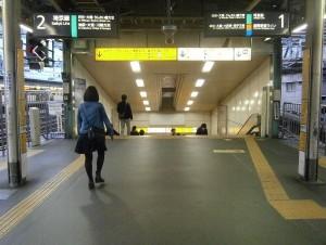 埼京線新宿駅