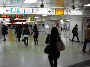 新宿駅中央通路