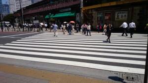 有楽町 横断歩道