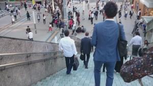 丸ノ内線階段