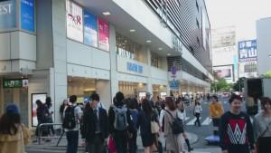 丸ノ内線新宿駅ビル