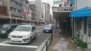 合羽橋商店街入口