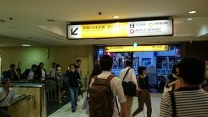 都営新宿線エスカレーター