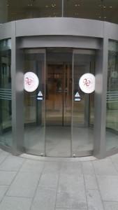 オペラシティ自動ドア