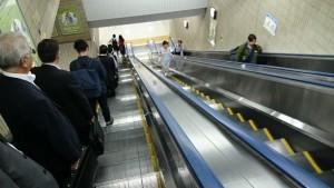京葉線①エスカレーター