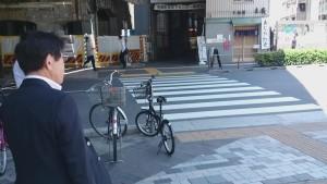 京葉線 有楽町横断歩道
