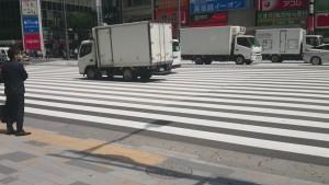 成田 北横断歩道