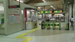 京葉線 改札