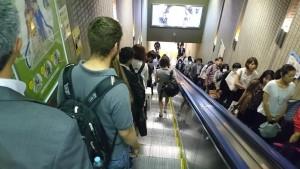 京葉線①大エスカレーター