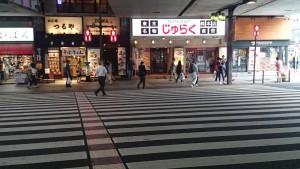 上野アメ横 横断歩道