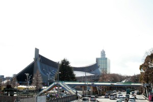 代々木競技場 陸橋