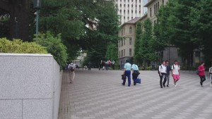 早稲田駅 正門