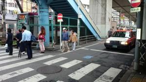 王子駅 横断歩道