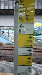 王子駅 ホーム