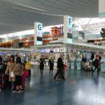 【羽田空港乗換案内】モノレール・京浜急行から羽田空港国際線出発ロビーへの行き方。